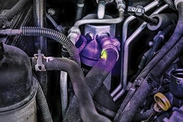 Car Engine Leak