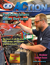 Tracerline's OEM-Grade fluorescent leak detection dyes have been featured on the front cover of ACtion Magazine's July/August 2019 issue.